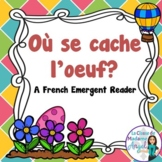 Paques (Pâques):  Easter Themed Emergent Reader in French: