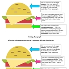 Paragraph Writing:  Sandwich Organizer Model 