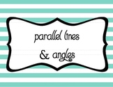 Parallel Lines & Angles