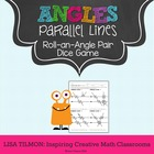 Parallel Lines Roll an Angle Pair Game