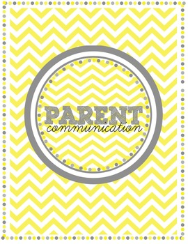 Parent Communication DIY binder kit
