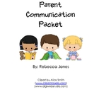 Parent Communication Packet
