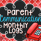 Parent Communication Recording Sheets/Log Sheets (RISE)