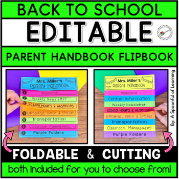 Parent Flip book Handbook