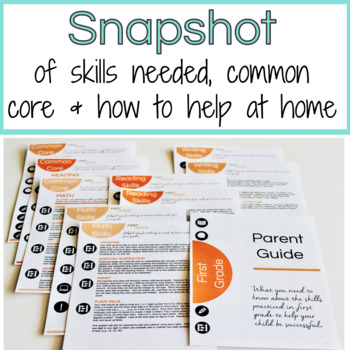 Parent Guide to First Grade Skills