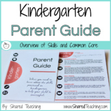 Parent Guide to Kindergarten Skills