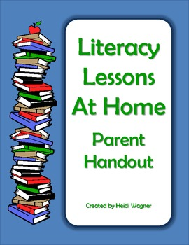 Parent Handout - Literacy at Home