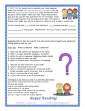 Parent Letter for Daily Reading