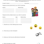 Parent Questionnaire - Getting to Know Students