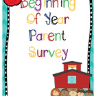 Parent Survey in English and Spanish