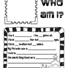 Parent Teacher Conference Fun Forms - Find my Desk and Let