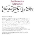 Parent Teacher Conference Packet FREEBIE: Math Common Core