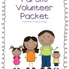 Parent Volunteer Packet