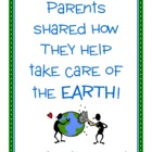 Parent Writing Homework - Earth Day