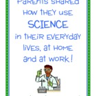 Parent Writing Homework - Science