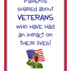 Parent Writing Homework - Veterans Day