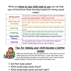 Parent support pack for reading stragegies and comprehension