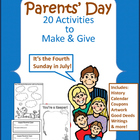Parents' Day: 15 Activities to Make and Give