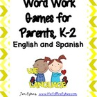 Parents Games For Sight Words - English &amp; Spanish
