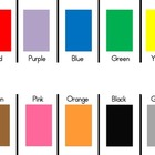 """Parking Lot"" Colors Mat"
