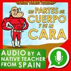 Partes del cuerpo y de la cara bundle from Spain interactivo