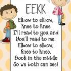 Partner Reading Poster~ EEKK!