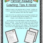 Partner Reading (Read to Someone) Peer Coaching: Hints and Tips!