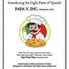 Parts Of Speech & PAPA V INC. Papa's Poetry & Songs Booklet