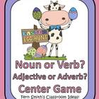 Easter Center Game for Parts of Speech