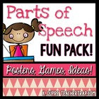 Parts of Speech Fun Pack