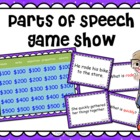 Parts of Speech Game Show :: noun verb adjective adverb pr