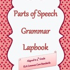 Parts of Speech Grammar Lapbook