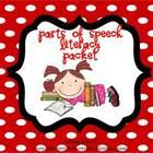 Parts of Speech Mini Packet