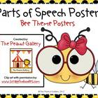Parts of Speech Posters (Bee Theme)
