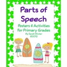Parts of Speech Posters and Activities