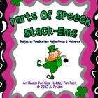 Parts of Speech Saint Patrick's Day Themed Game