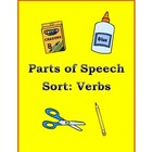 Parts of Speech Sort: Verbs