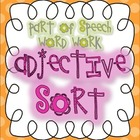 Parts of Speech Sorting {ADJECTIVES: 6 sorting activities,
