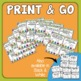 Parts of Speech Task Cards: 32 Multiple Choice Cards (Set 2)