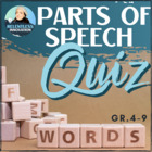 Parts of Speech Test