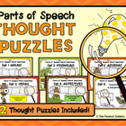 Parts of Speech Word Search Bundle