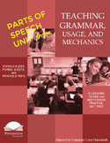 Parts of Speech Worksheets, Answers, and Assessments