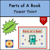 Parts of a Book PowerPoint: Glossary, Index, Table of Cont