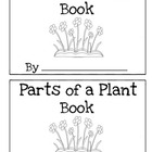 Parts of a Plant Book Differentiated (Read, Trace, Fill in