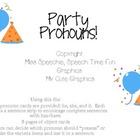 Party Pronoun Fun!