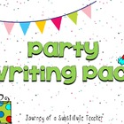 Party Writing Pack