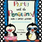 Party with the Penguins-Math &amp; Literacy Unit