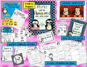 Party with the Penguins-Math & Literacy Unit