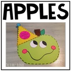 Partyin' Apples~ Craftivity for Johnny Appleseed's Birthda