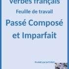Passe Compose vs Imparfait worksheet 2